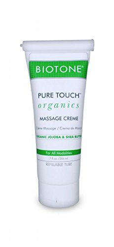 Biotone Pure Organic Massage Creme, 7 Ounce