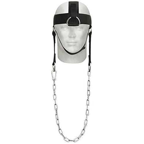 AQF réglable Harnais de tête cou à sauce Builder avec fixation D-hook haltérophilie Chaîne Harnais