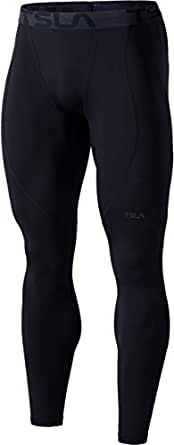 Tesla Thermal Wintergear Compression Baselayer Pants Leggings Tights YUP53-BLK