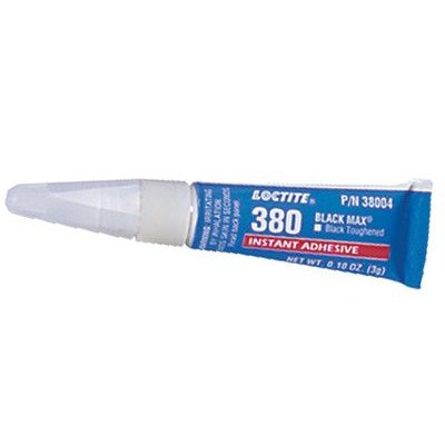 Loctite 38004 380 Max Toughened Instant Adhesive, 3 gm Tube, Black