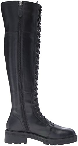 Kelsi Dagger Brooklyn Womens Malcom Combat Boot Nero
