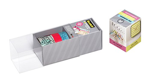 Scotch Expressions Washi Tape, Multi-Pack with Storage Box, Neon Pink, Travel, 3 Rolls (C317-3PK-TRV) Photo #2