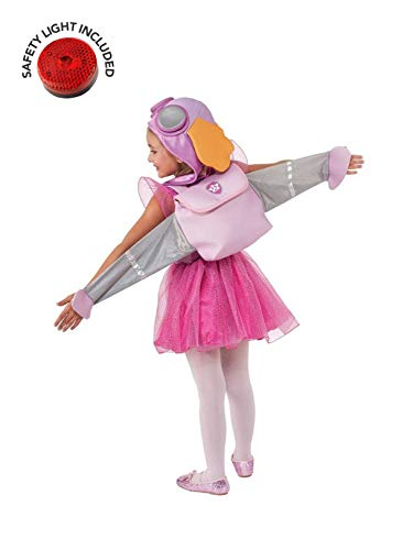 Paw Patrol Skye Kids Costume Kit with Safety Light - Small 4-6