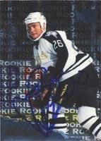 Jere Lehtinen Dallas Stars 1996 Fleer Metal Autographed Card. This item comes with a certificate of authenticity from Autograph-Sports. Autographed ()