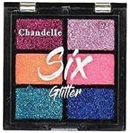 Paleta de Sombra Glitter - Cor 01, Chandelle
