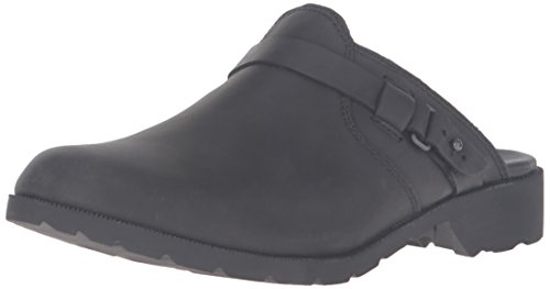 Mule Premium Women's Blk Teva Black Boot Delavina Leather Black q6ZUOW
