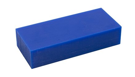 Freeman Carving Wax Block, Blue, Medium Hard, 1 Pound | WAX-331.10 by EuroTool