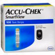 Accu-Chek Smart View Test Strips, 100 Count