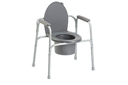 Invacare All-In-One Aluminum Commode