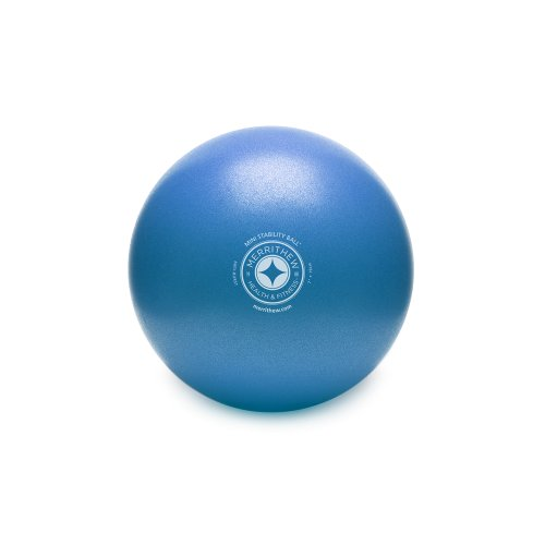 STOTT PILATES Mini Stability Ball (Blue), 7.5 Inch / 19 cm