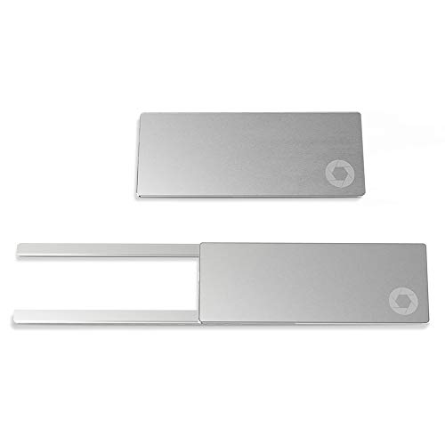 - STEAGLE ORIGINAL (Silver) Laptop Webcam Cover for your privacy - Macbook - Laptop - PC - 0.03 inch ultimate thinness