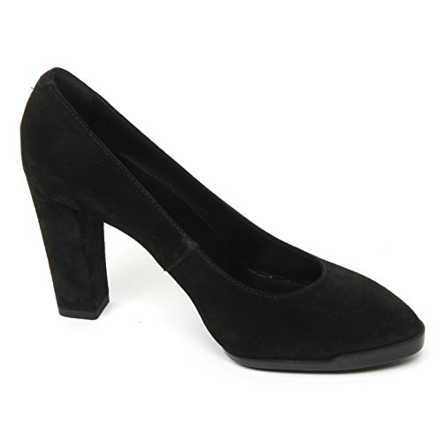 Shoe Scarpa Tod's Donna Nero Decollete T95 Woman Gomma B9586 nxOq60T