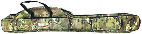 Versteift Rutentasche York Soldier Rutenfutteral 2//3 F/ächern 125//135//145//155cm