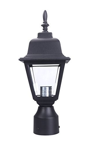 Outdoor Pole Lamps Black in US - 8