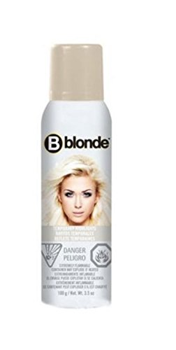 jerome russell B Blonde Temporary Highlight Spray, Platinum Blonde, 3.5 Ounce (Russell Bblonde Highlight Jerome)