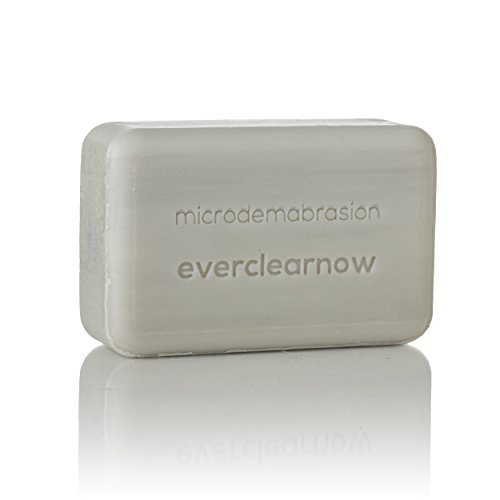 Deep Pore Treatment Lotion - Microdermabrasion Exfoliating Deep Cleansing Soap - Large 8 Ounces Soap Bar -Everclearnow Microdermabrate and Deeply exfoliate your skin, Removes Dead Skin Cells-Perfect for helping Keratosis Pilaris