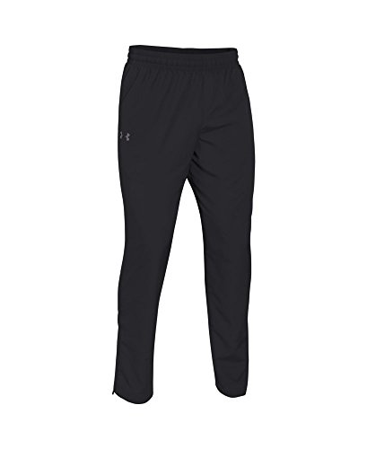 Under Armour Men's Vital Warm-Up Pants, Black /Graphite, Small by Under Armour (Image #3)