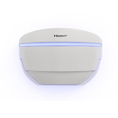 Hoont Plug-in Wall Sconce Sticky Fly Trap Catcher and Killer with Bright UV Light Attracter (Includes 4-Adhesive Glue-Boards) / Get Rid of All Flies - For Residential and Commercial Use