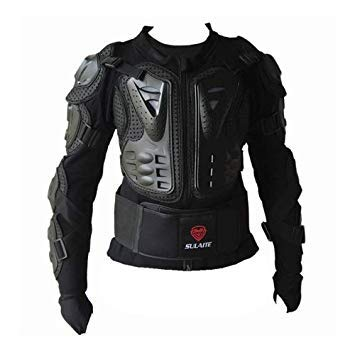 Uniqus BA-03 SUV Motorbike Bicycle Outdoor Sports Armor Predective Jacket, Size  S(Black)