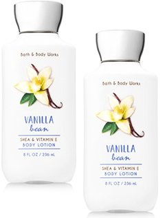 Bath and Body Works 2 Pack Vanilla Bean Body Lotion.8 Oz
