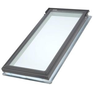 VELUX 21 in. x 45-3/4 in. Fixed Deck-Mount Skylight with Tempered LowE3 Glass