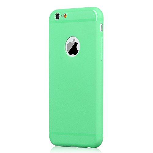 Badalink 3 in 1 Zubehör Set Schutzhüllen iPhone6 Hülle TPU Case Schutzhülle Silikon Crystal Case Durchsichtig Cover Schale Handy Tasche Skin for iPhone 6 6S Case