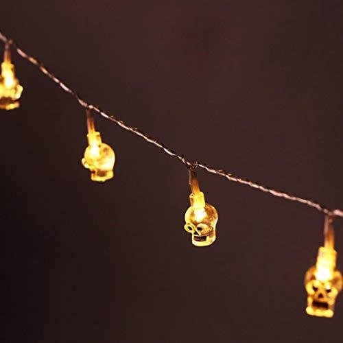 DDLBiz 20 LED Transparent Gimmick Led Holiday Lights