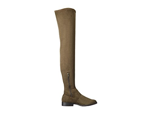 LFL by Lust For Life Rank ELUSIVE REBEL Over-the-Knee Thigh High Flat Fiited Boots Army Green JVX3e97rfU