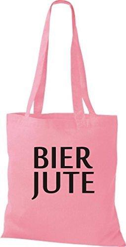Shirtinstyle - Bolso de tela de algodón para mujer - classic pink
