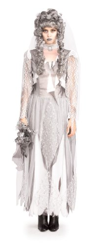 [Rubie's Costume Dead Bride Costume, Grey, Standard] (Adult Ghost Groom Costumes)