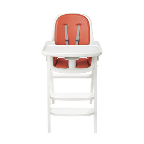 Oxo Tot Sprout High Chair, Orange/White