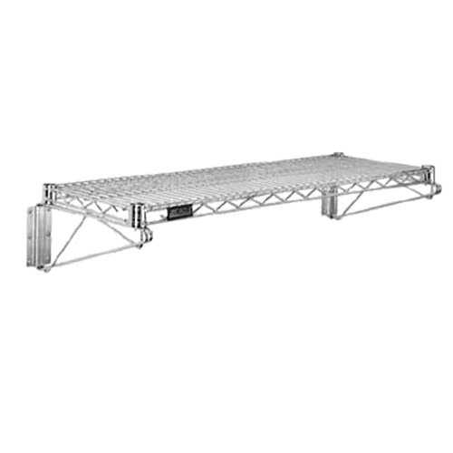 Commercial Chrome Wire Shelving Wall Shelf 24 x 60 - NSF