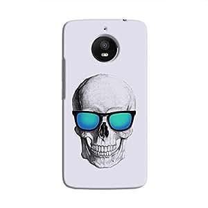 Cover It Up - Cool Skull Moto E4 Plus Hard Case