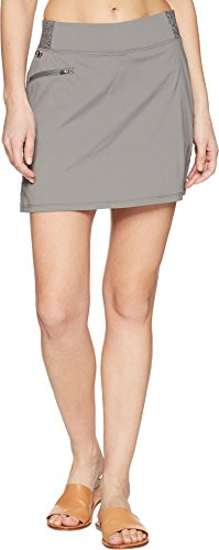 Outdoor Research Women's Zendo Travel Skirt, Pewter, 6 by Outdoor Research