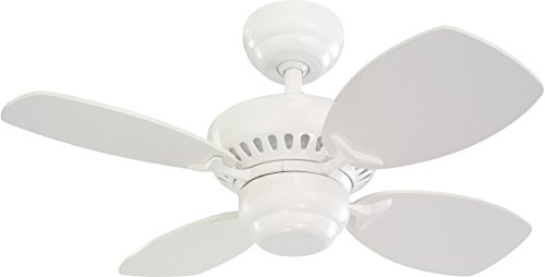 Monte Carlo 4CO28WH Colony II Ceiling Fan, 28