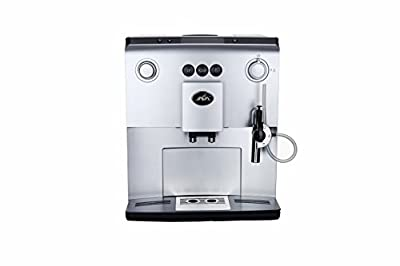 JAVA WSD18-060 Fully Automatic espresso Machine with LCD Display, Silver