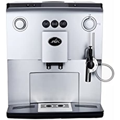 JAVA WSD18 060 Fully Automatic Espresso Machine With LCD Display Silver