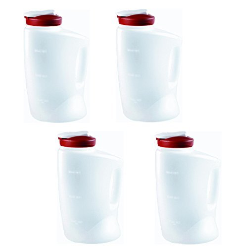 Rubbermaid E600 1-gallon Pitcher (Pack of 4) ...