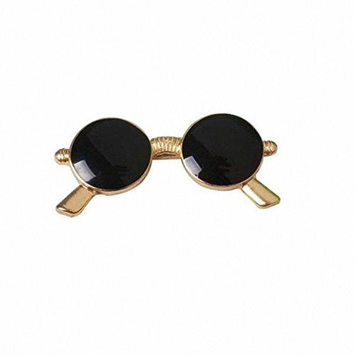 Kalapure Girls Fashion Sunglasses Super Dark Lens Lapel Pin Brooch by Kalapure