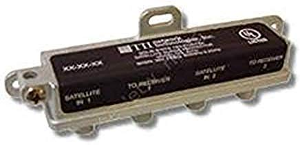 TII 231-2 SATELLITE DBS DUAL LNB SURGE PROTECTOR 0.9 - 2.2GHz by TII Network Technologies