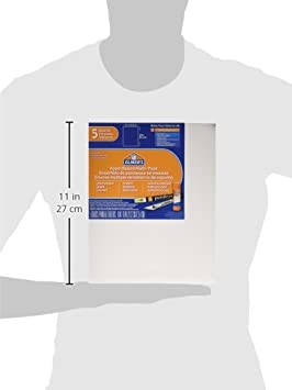 20 x 25 cm 5-Pack White 5//Pack Elmers pre-cut White Foam Board sheets 950020 8/x 10