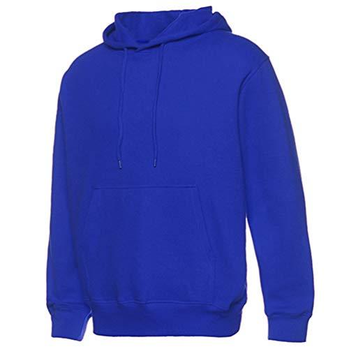 Addensare Inverno Pullover Cappuccio Casuale 1 Autunno Allentata E Heheja Uomo Versione Con Blu Felpa 1gxnq80q