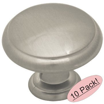 brush nickle cabinet knobs - 2