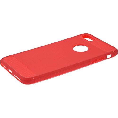 PhoneNatic Custodia Apple iPhone 8 Cover rosso Ultimate iPhone 8 in silicone Case