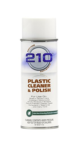 40934 210 Plastic Cleaner/Polish - 14 oz(Packaging may vary)