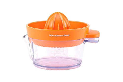 KitchenAid Citrus Juicer in Orange (Dishwasher Safe) (Kitchenaid Je Citrus Juicer Stand Mixer Attachment)