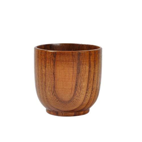 Saucer Coffee Bond (Natural Wooden Cup Wood Coffee Tea Beer Juice Milk Water Mug Handmade)