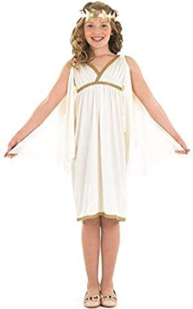 Niña Oro Blanco Cleopatra Egipcia Toga Romana Día Libro histórico ...