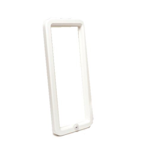 CATO 11005 White Plastic Replacement Frame with Lock for The 105-10 Chief Fire Extinguisher Cabinet