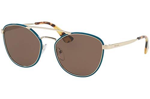 Prada Womens Unisex Aviator 55Mm Sunglasses ()
